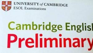 Поздравляем с успешной сдачей Кембриджского экзамена PET